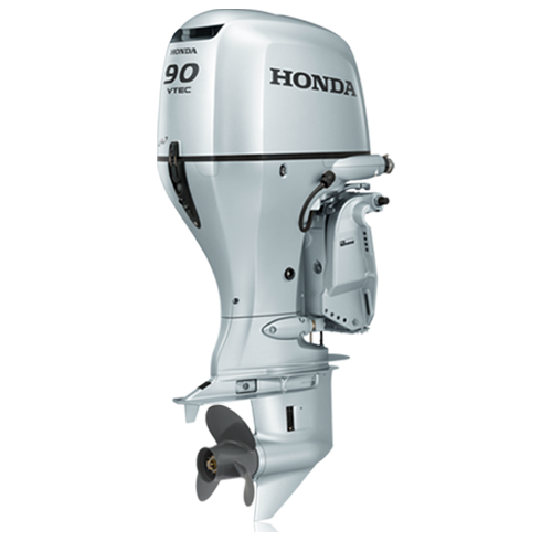 Honda bf2 3 outboard motor team marine services boat for Boat motor repair shops